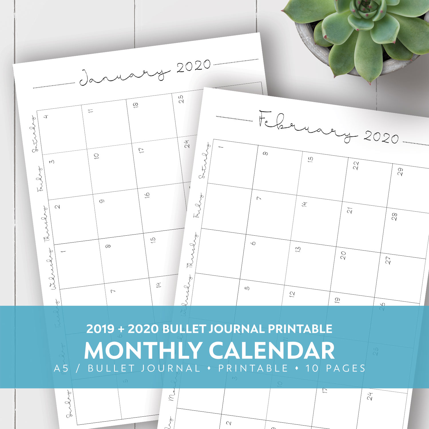 It's just a picture of Challenger Printable Planner Pages 2020