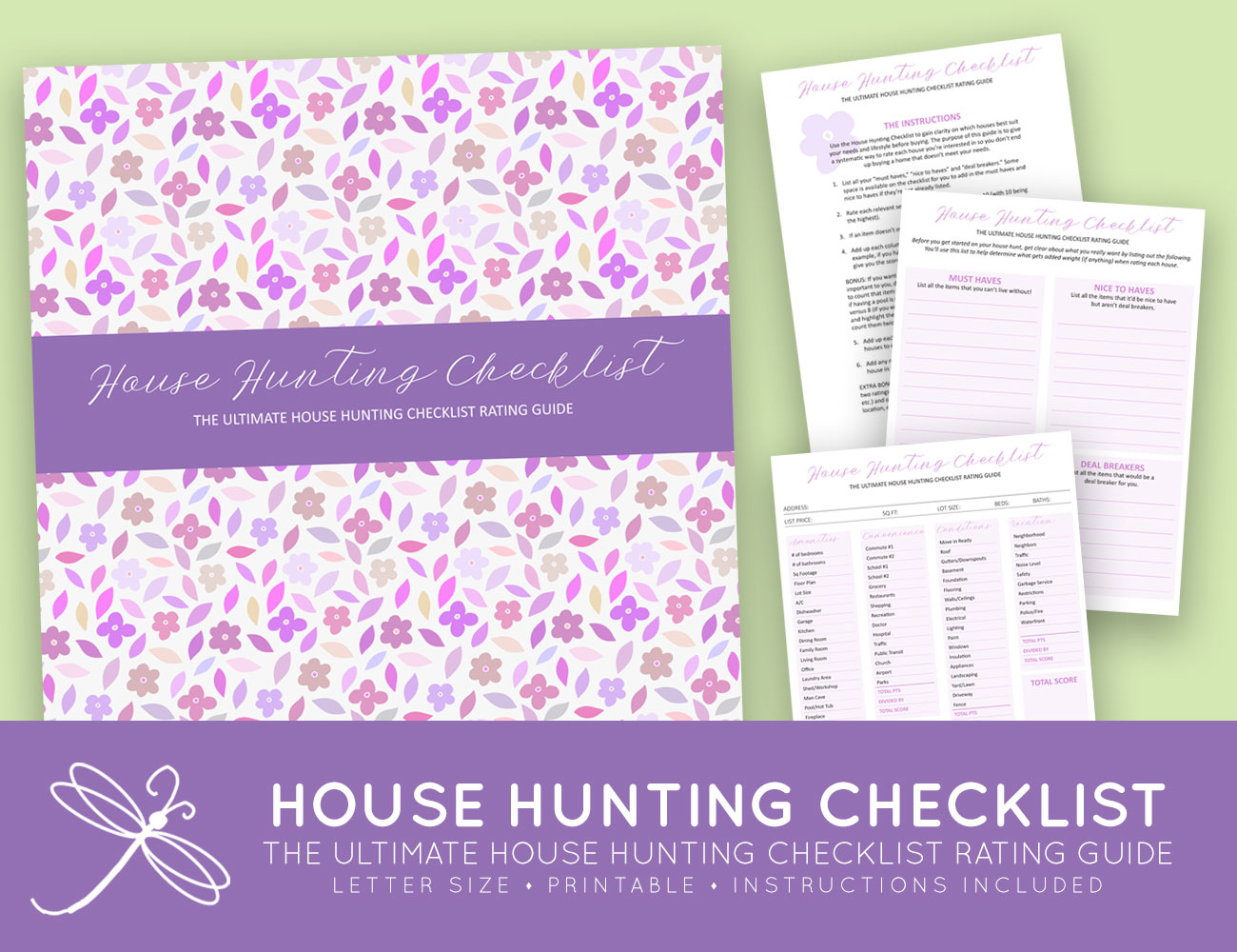 picture about House Hunting Checklist Printable named The Best Printable Residence Wanting List Position Specialist