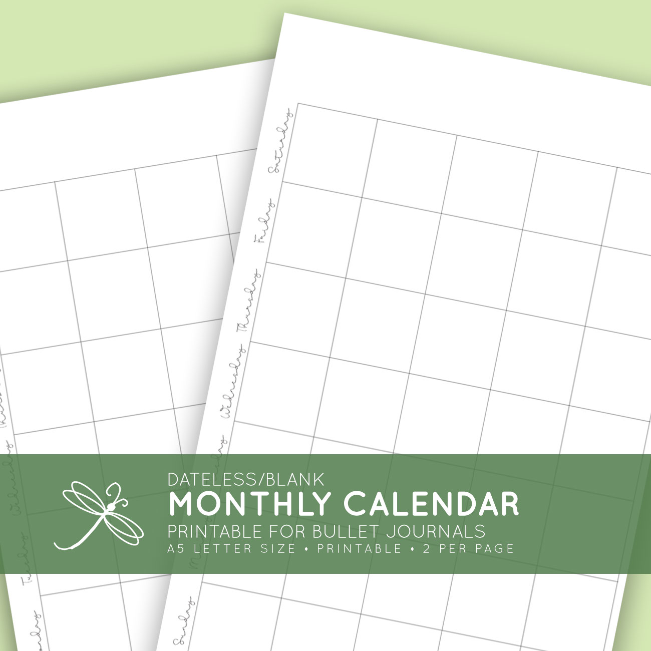 graphic about Bullet Journal Calendar Printable known as Blank Regular monthly Printable Calendar