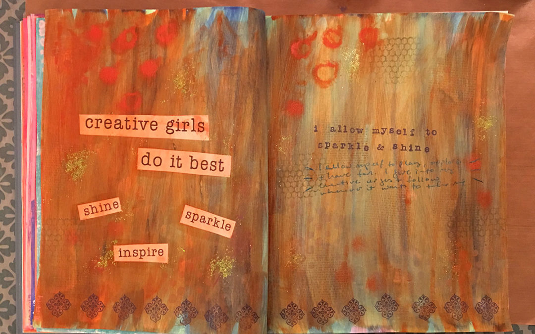 Creative girls do it best
