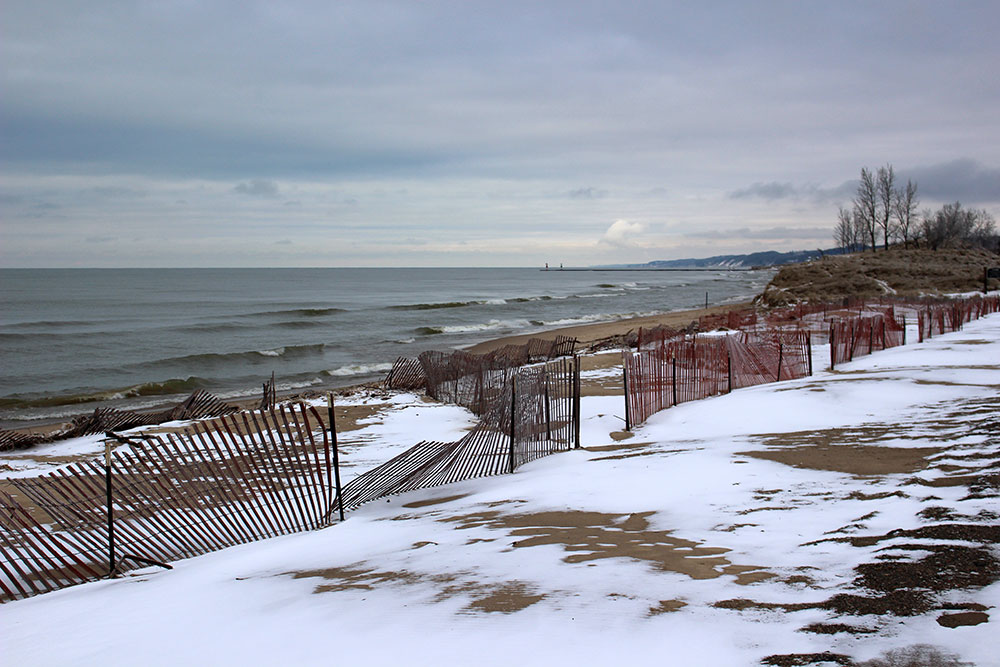 Winter in Saugatuck